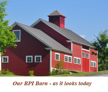 1785 Barn after renovations